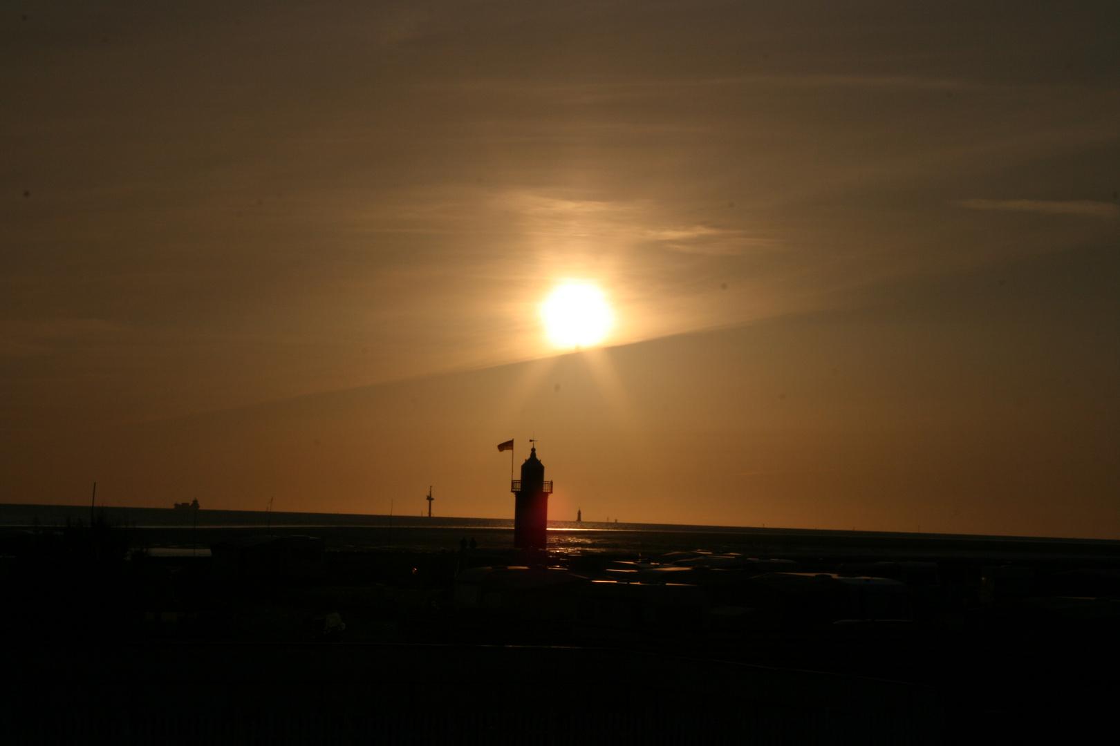 Wremen Sonnenuntergang