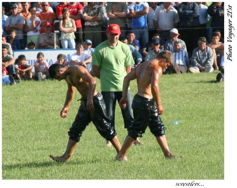 Wrestling Match in Ruyen-Bulgaria-2006