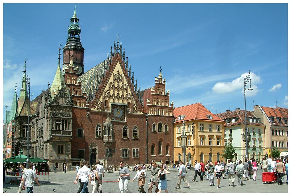 Wroclaw - Breslau - Rathaus