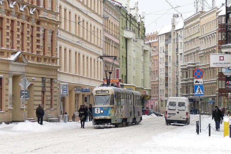 Wroclaw: Der Winter ist da und die 102Na müssen verstärkt fahren