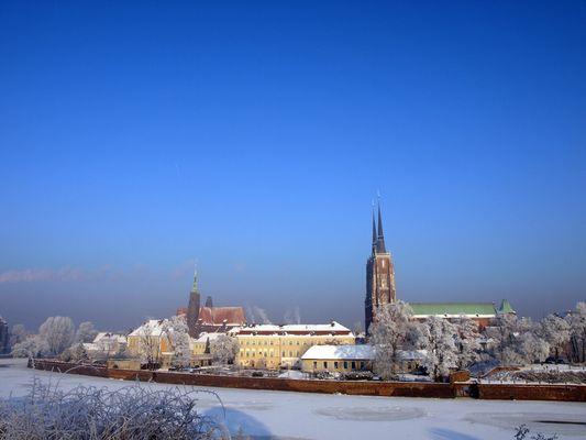 Wroclaw im Januar