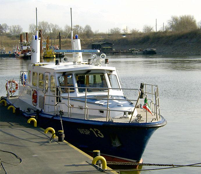 WSP 13 Wasserschutzpolizei Wesel