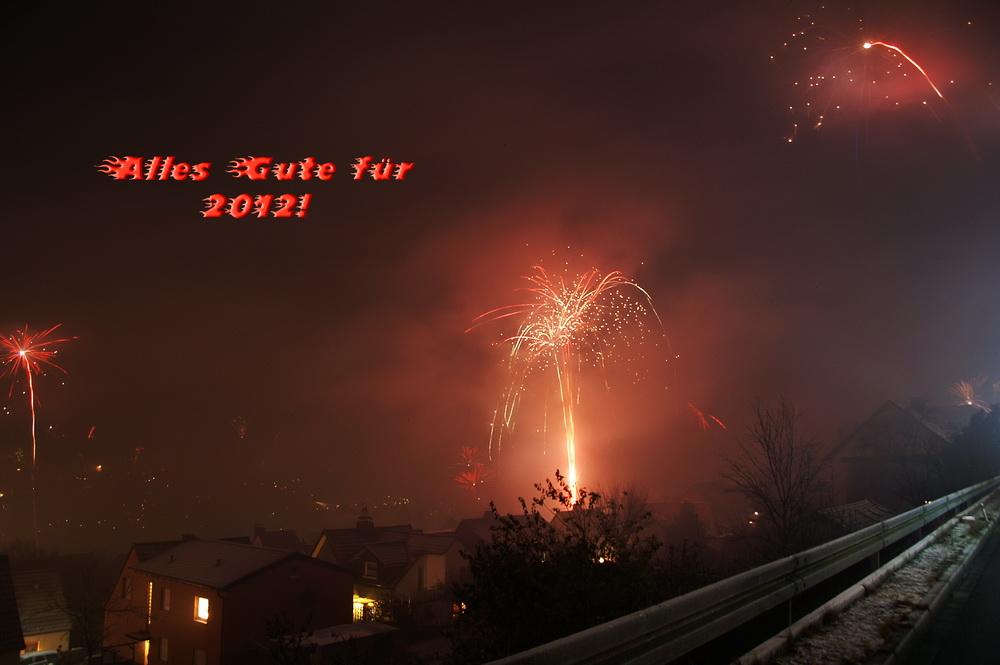 Wünsche allen ein erfolgreiches und gesundes neues Jahr 2012!