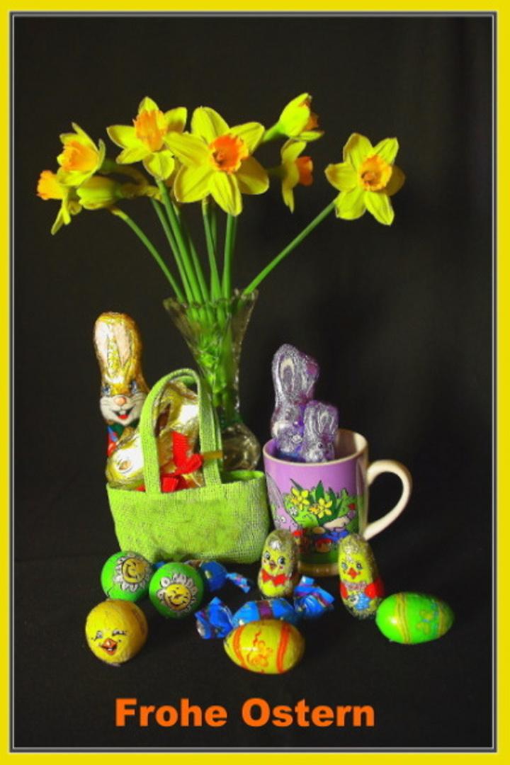 Wünsche allen Freunden der FC - Frohe Ostern!