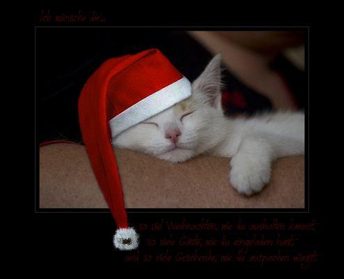 wünsche eine frohe und besinnliche weihnacht :-))