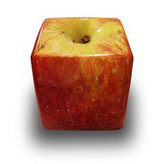 Würfel-Apfel