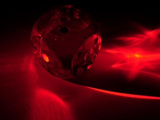 Würfel-Laser