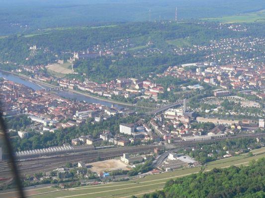 Würzburg aus der Luft, I