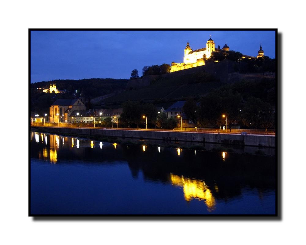 Würzburg / Festung Marienberg