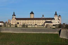 Würzburg - Festung Marienberg Südseite