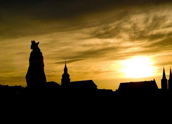 Würzburg im Gegenlicht