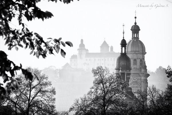 Würzburg im Nebeldunst