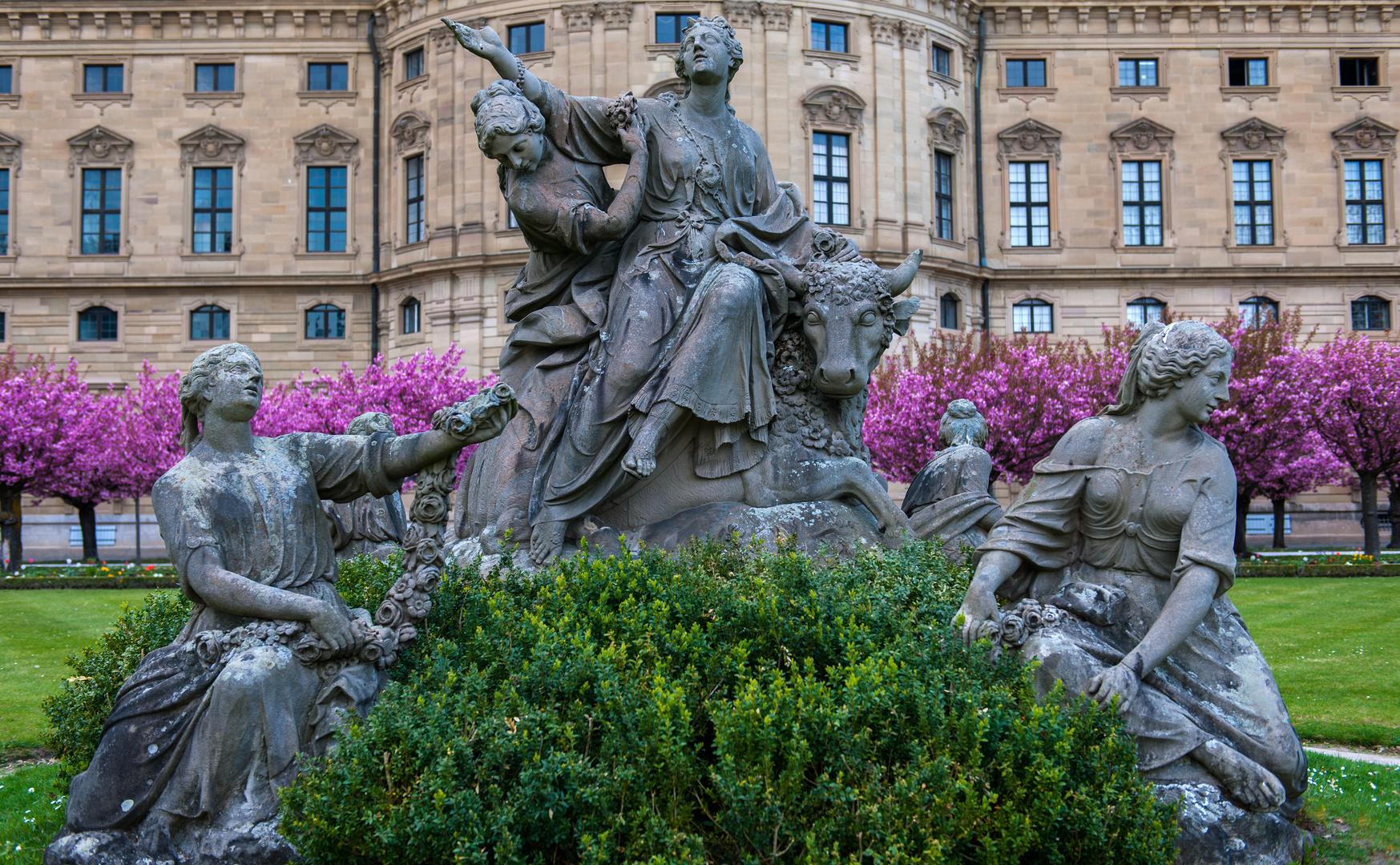 Würzburg - in der Residenz