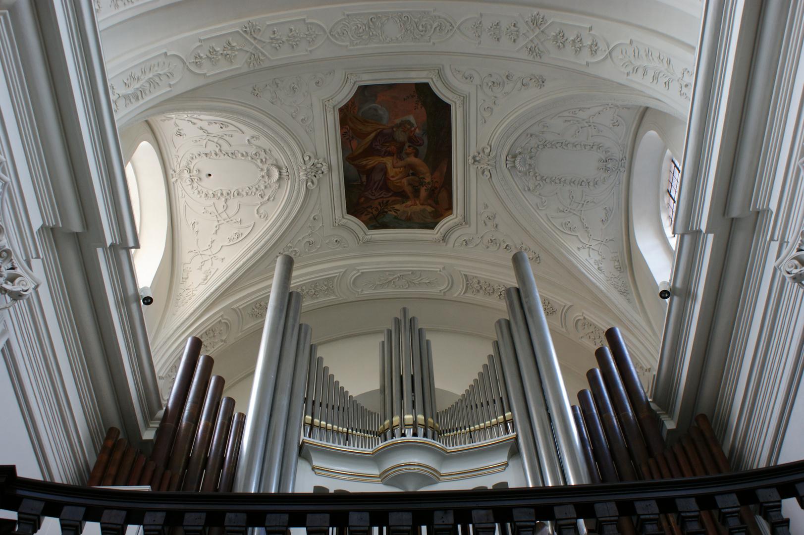 Würzburg-Mein Motiv in dieser Kirche