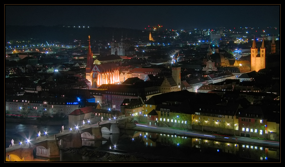 Würzburg Night Effects
