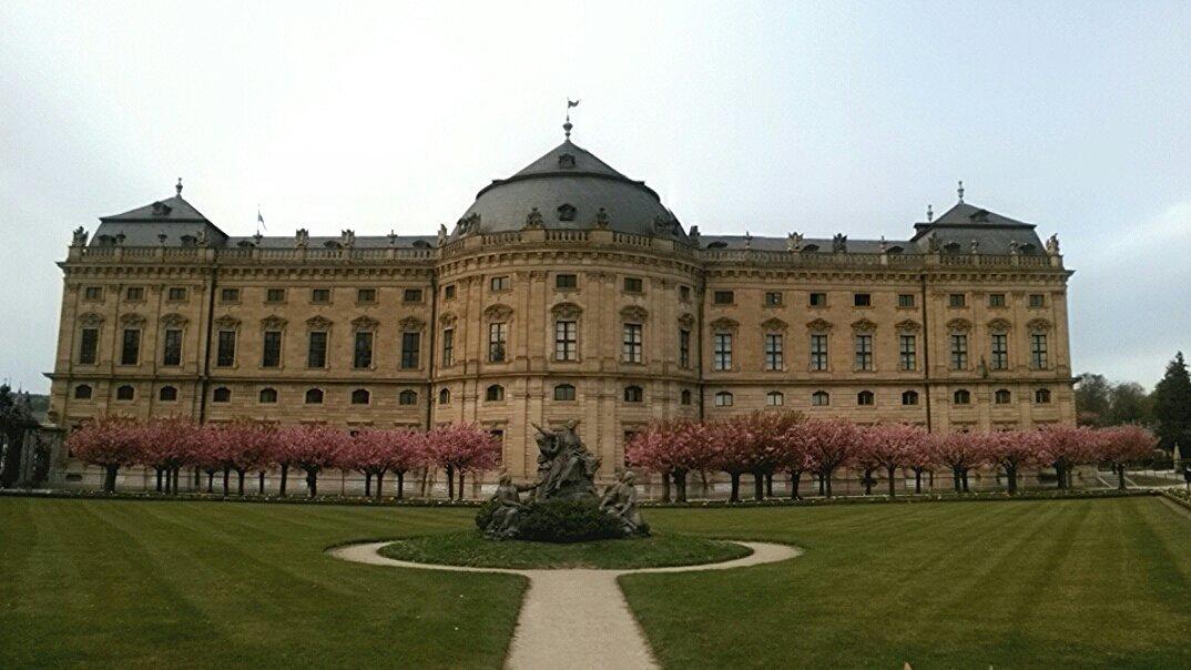 Würzburg Residenz - fotografiert mit dem Kindle in Panorama Einstellung