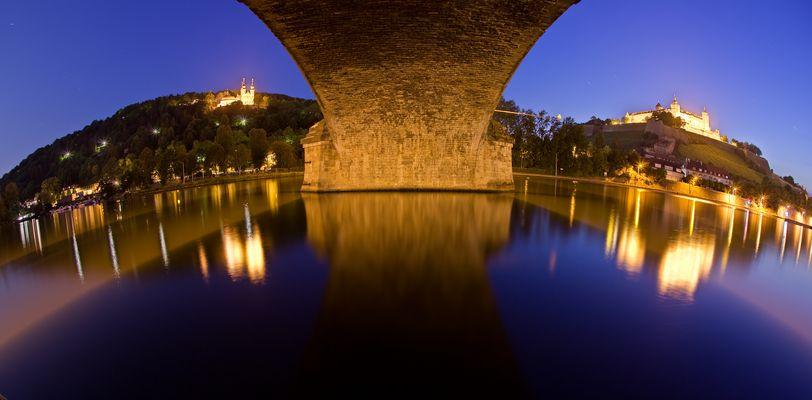 Würzburg - Unter der Löwenbrücke