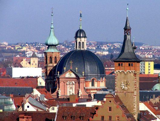 Würzburger Dächer