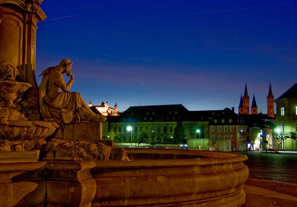Würzburger Residenze am Abend #3