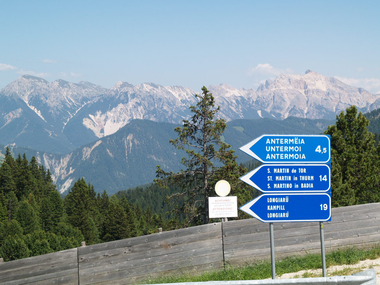 Würzjoch Pass Österreich 2013