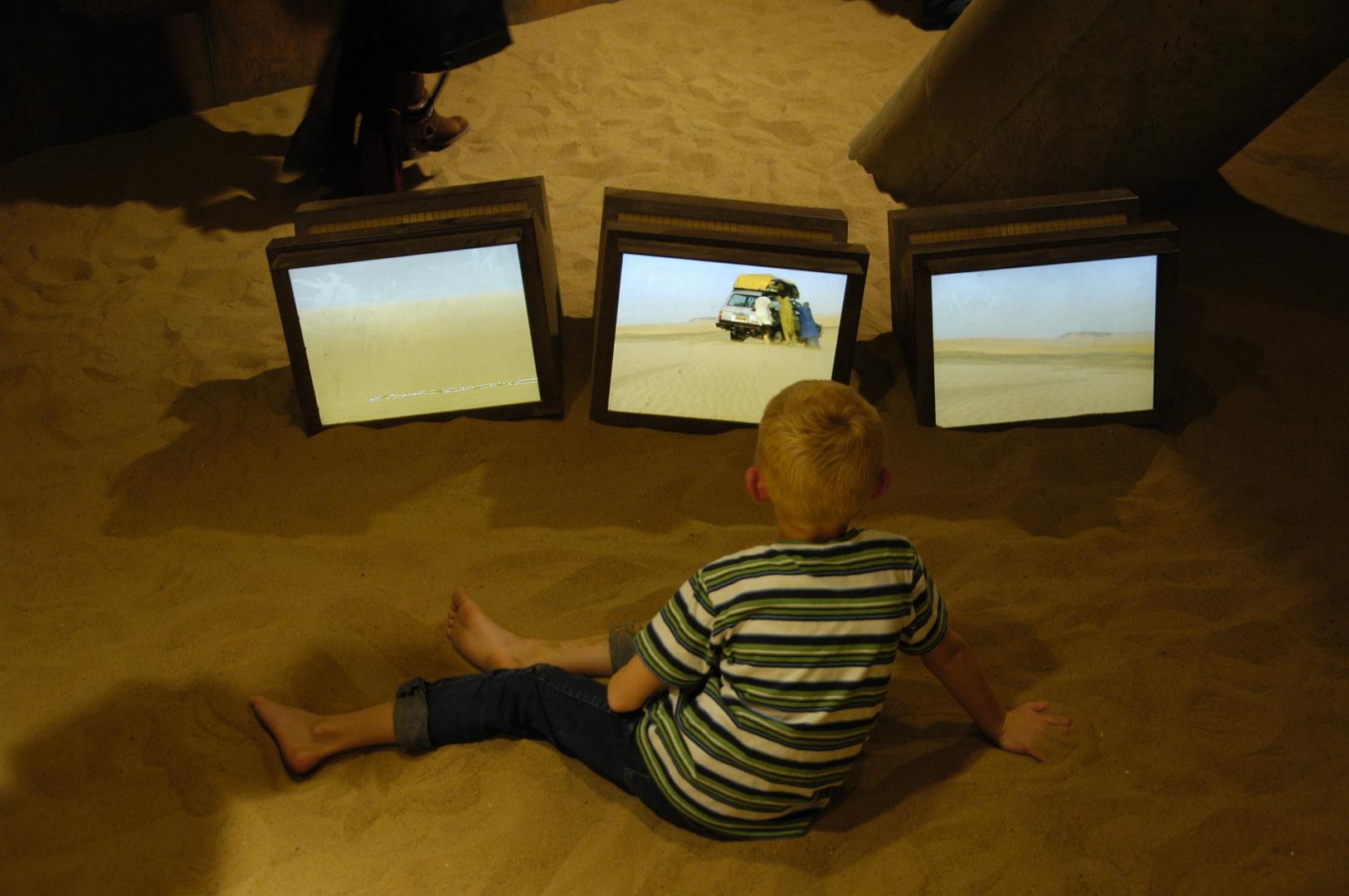 Wüstenfernsehen