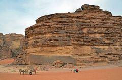 Wüstenflair im Wadi Rum