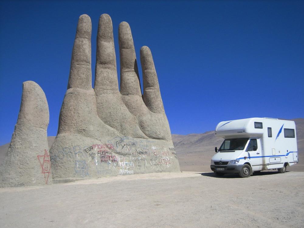 Wüstenhand bei Antofagasta Chile