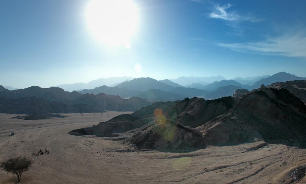 Wüstenhitze