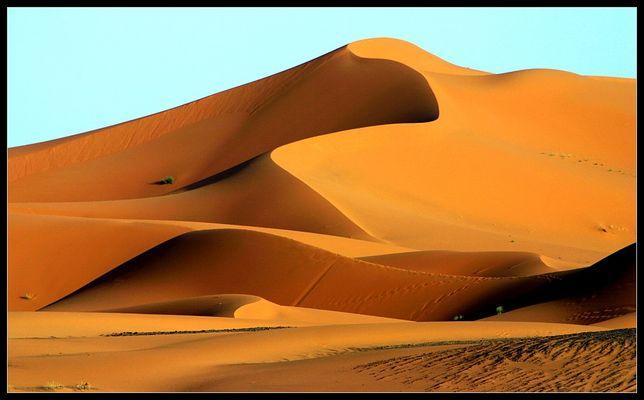 Wüstenimpressionen im Erg Chebbi, Merzouga, Marokko