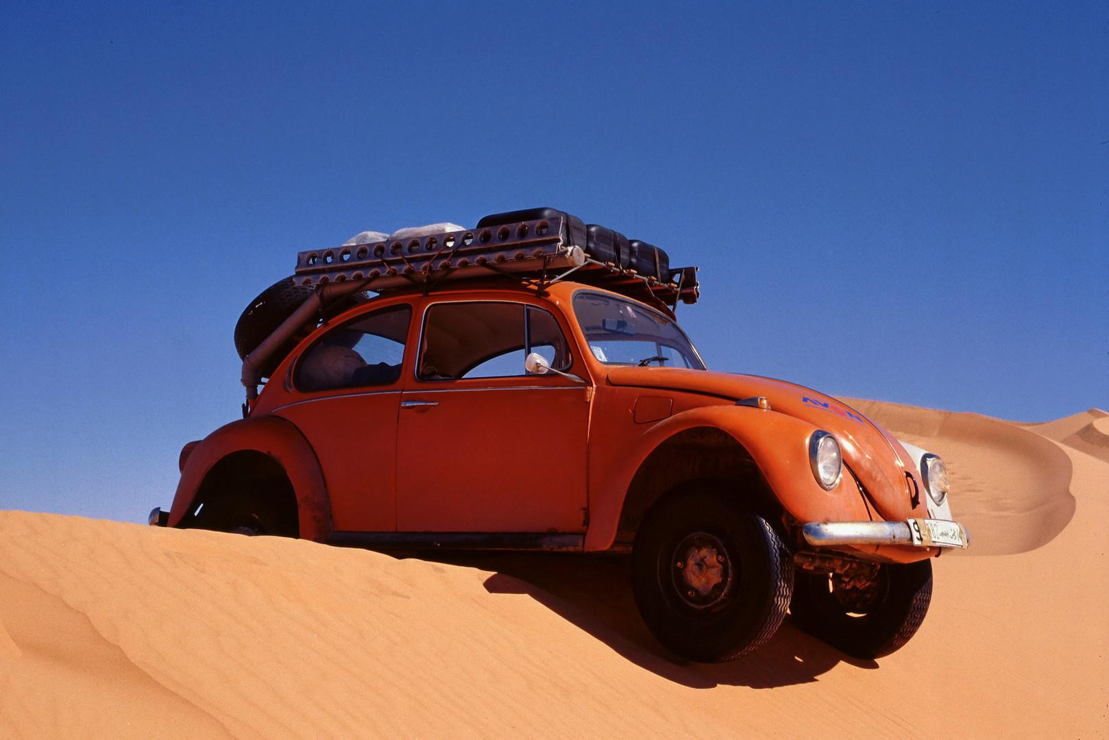 Wüstenkäfer - Mit einem VW-Käfer durch die Libysche Sahara/ Erg Ubari