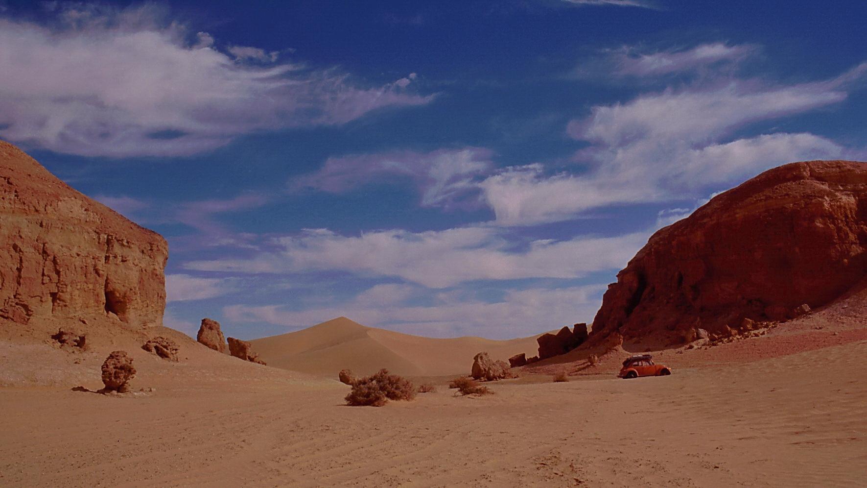 Wüstenkäfer zwischen Sand und Fels - Mit einem VW-Käfer durch die Libysche Sahara/ Erg Ubari