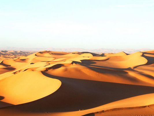 Wüstenlandschaft Algerien