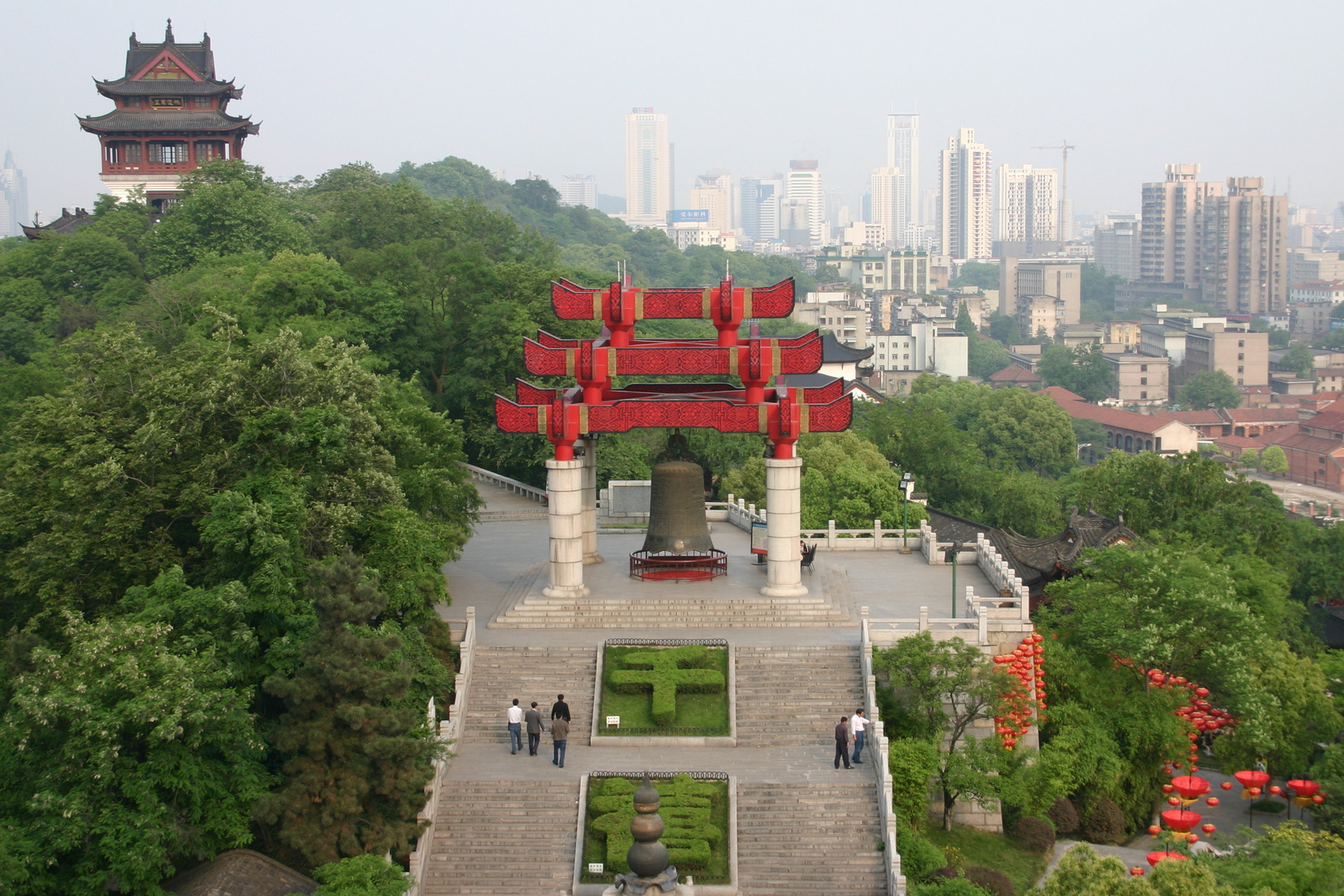 Wuhan - Blick vom Yellow Crane Tower