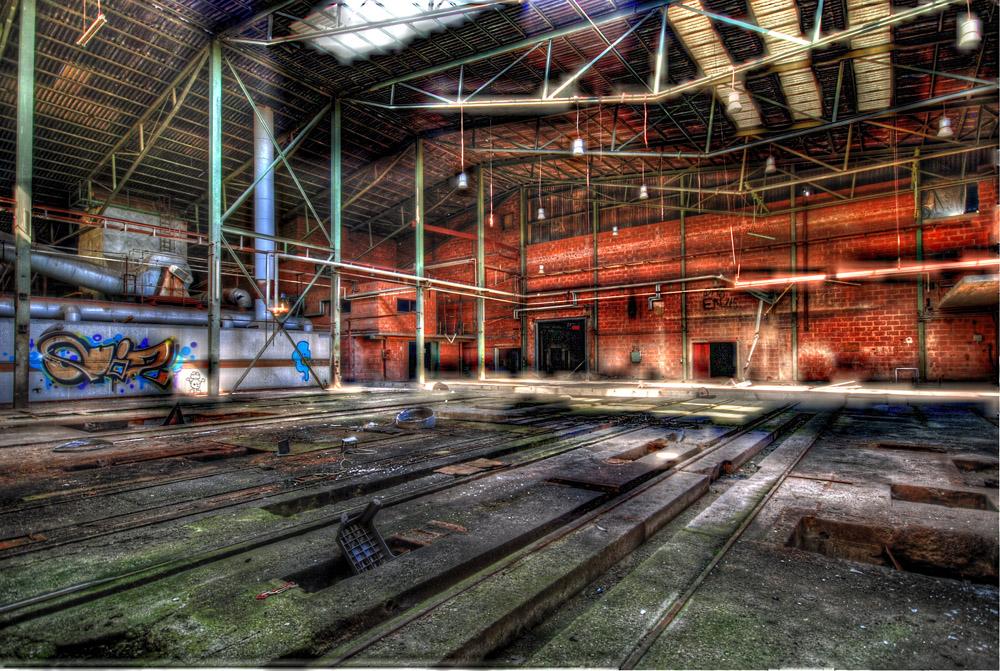 Wunderland oder doch nur alte Fabrikhalle