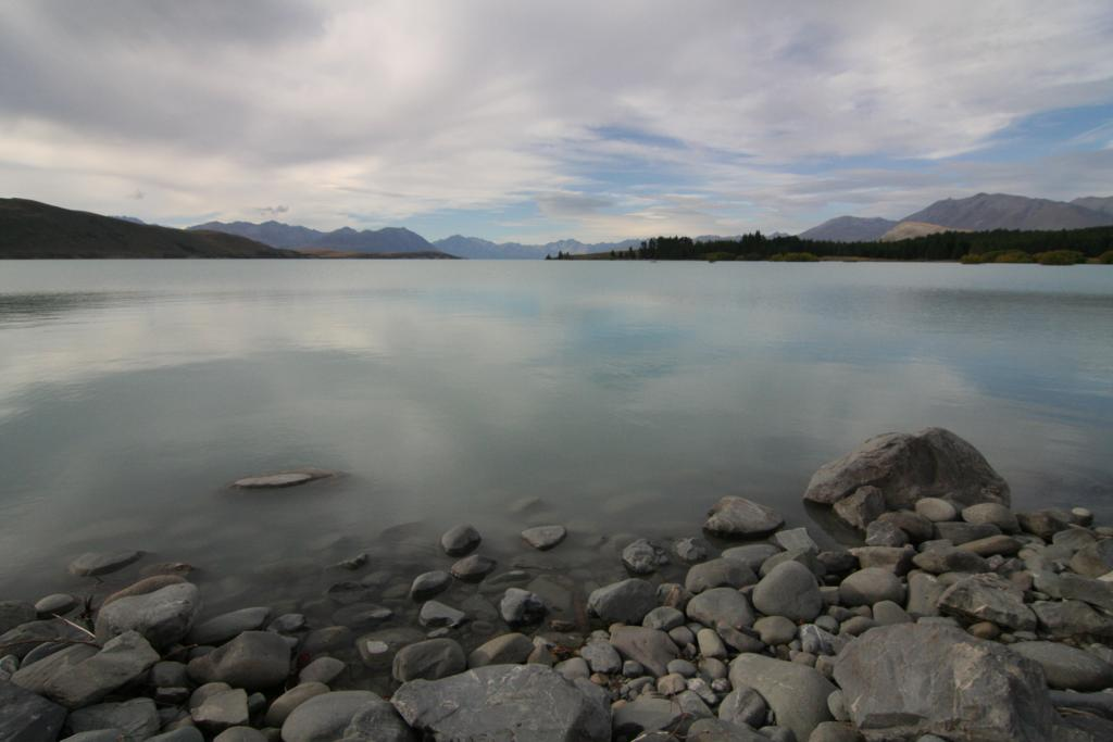...wundersamer Lake Tekapo (Neuseeland)