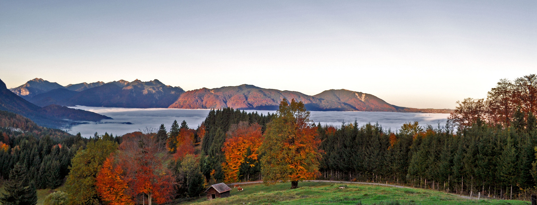 Wunderschöner Herbstmorgen