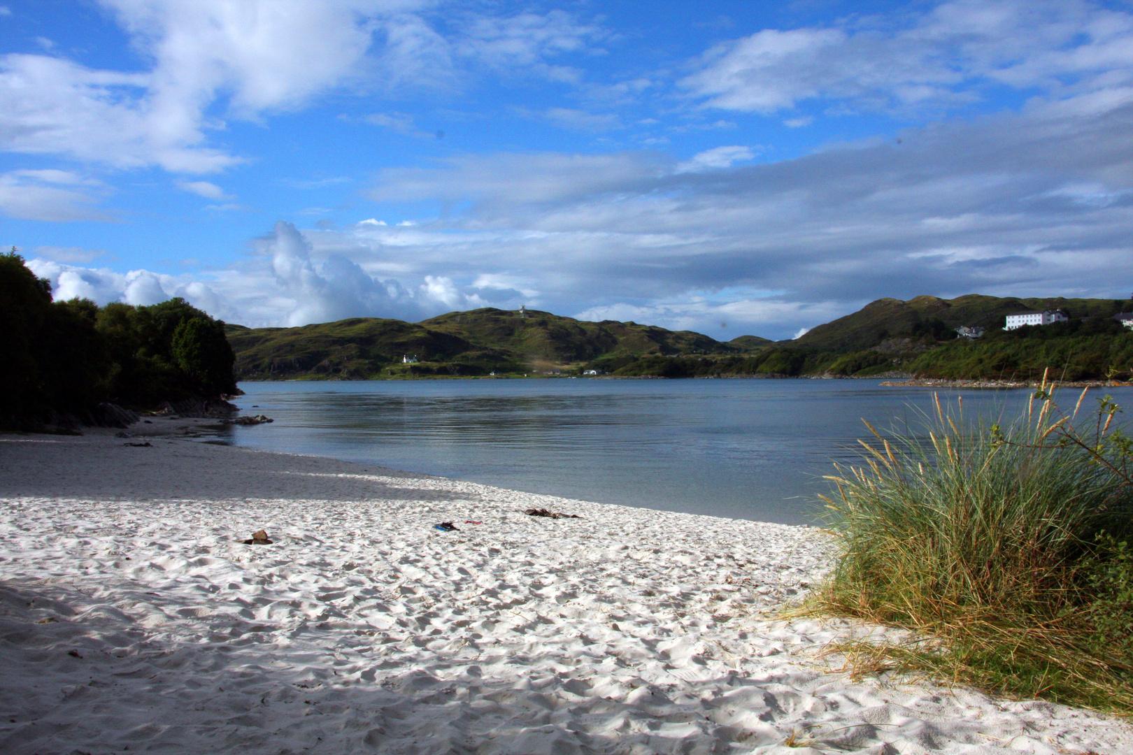 ..wunderschöner Sandstrand in der Nähe von Mallaig.....