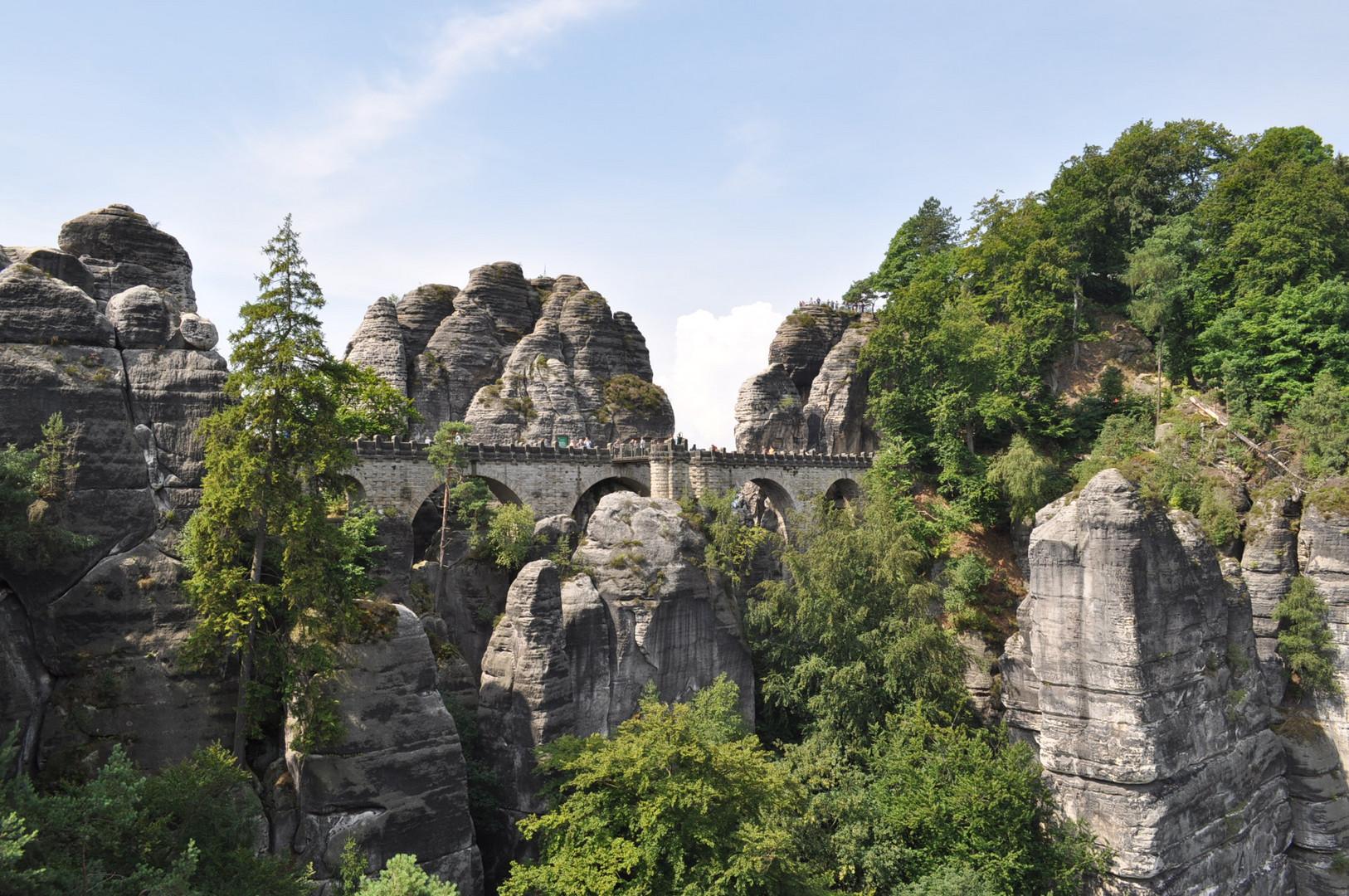 Wunderschönes Elbtal Bastei