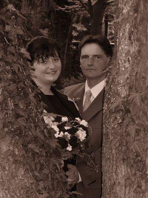 wunderschönes Hochzeitspaar