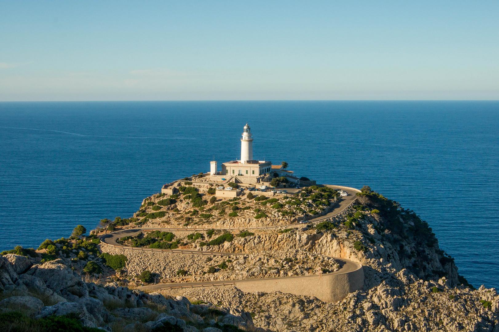 Wunderschönes Mallorca III, Leuchtturm von Cap Formentor