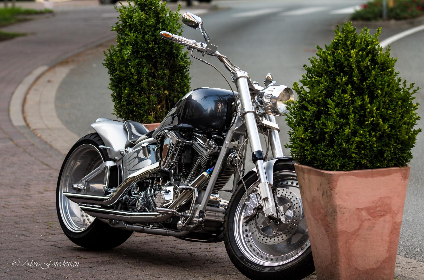 Wunderschönes Motorrad