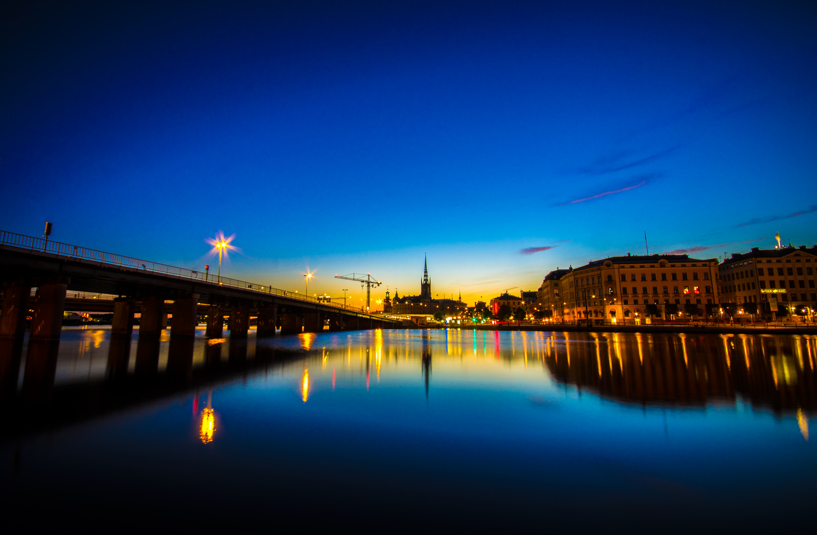Wunderschönes Stockholm