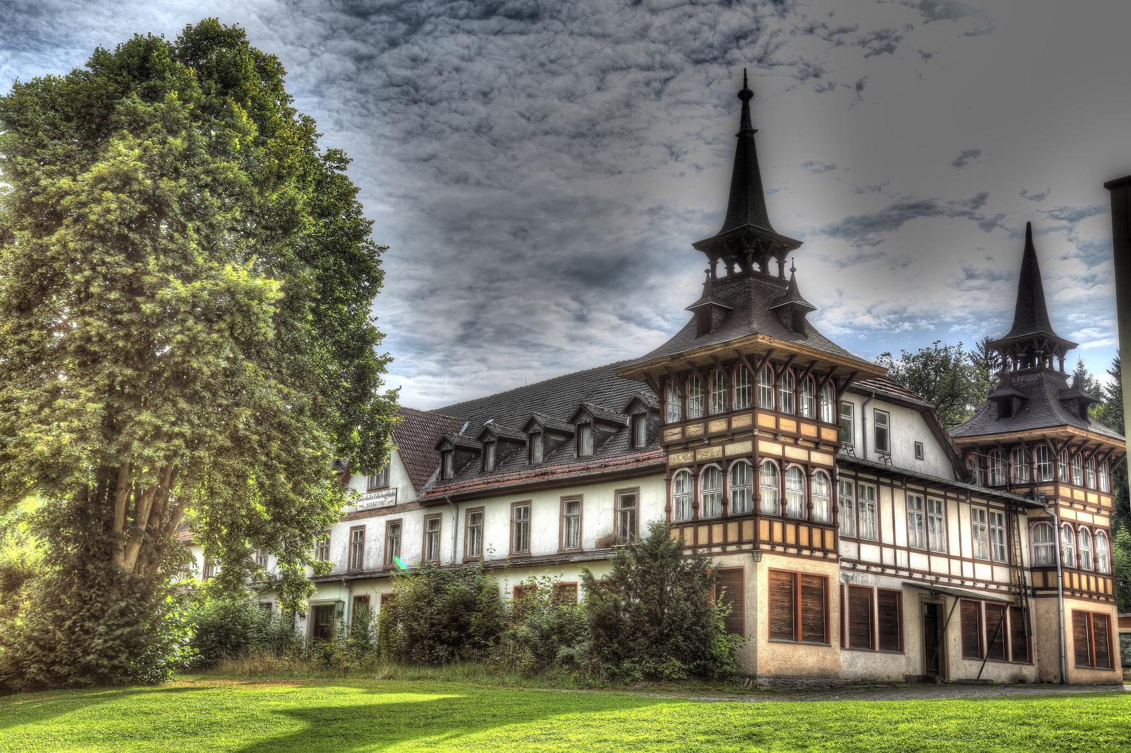 Wunderschönes,nicht mehr genutztes,Reichsbahn Erholungsheim im Harz