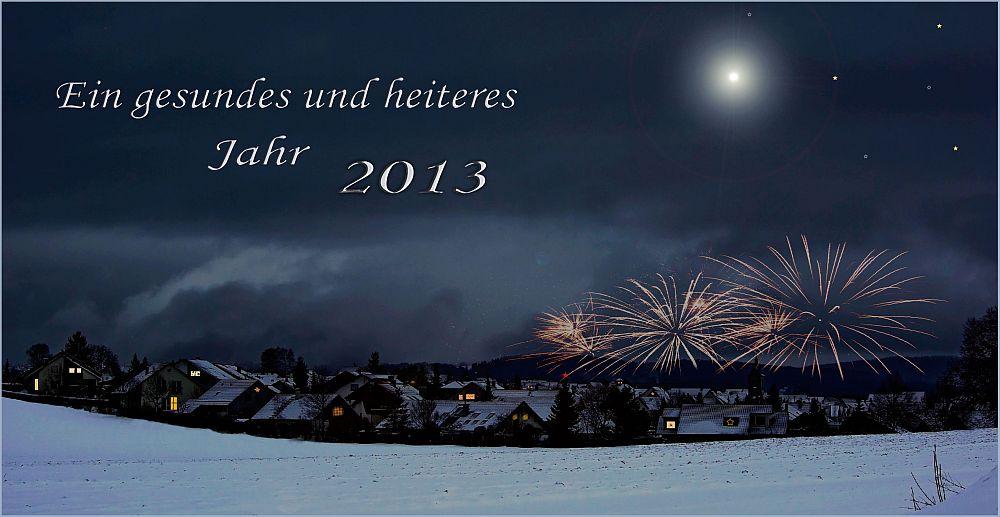 - Wunsch zum Jahreswechsel -