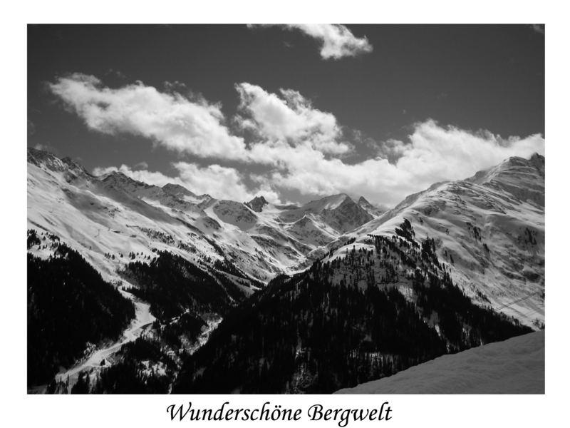 Wunscherschöne Bergwelt