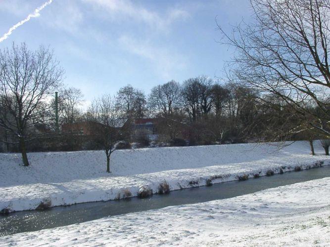 Wunstorfer Aue , endlich Schnee und Sonne!