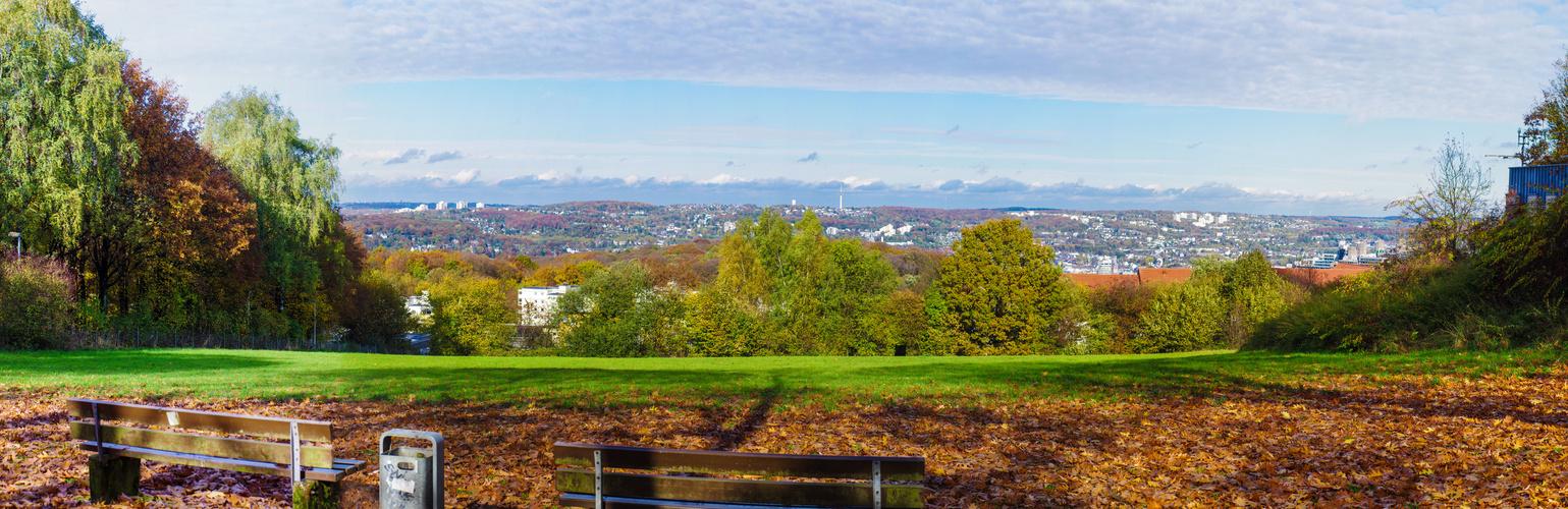 Wuppertal im Herbst