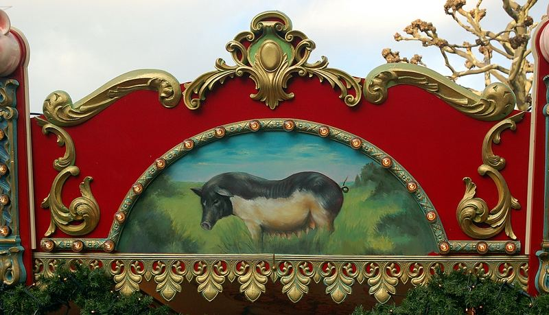 """Wurstbude"" von Circus Roncalli"