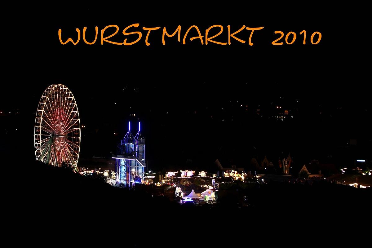 Wurstmarkt 2010 - 2