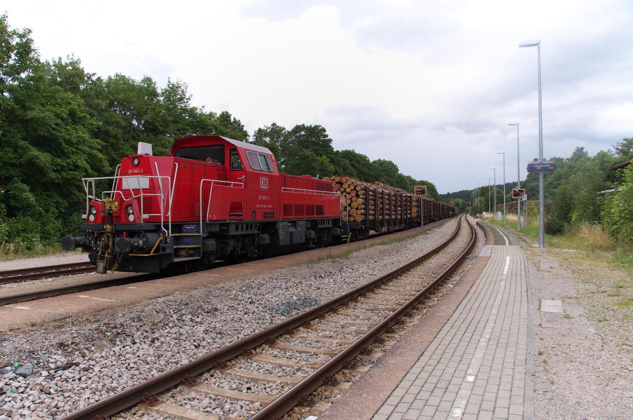 Wurzbach, ein Spitzkehrenbahnhof im Thüringer Schiefergebirge II